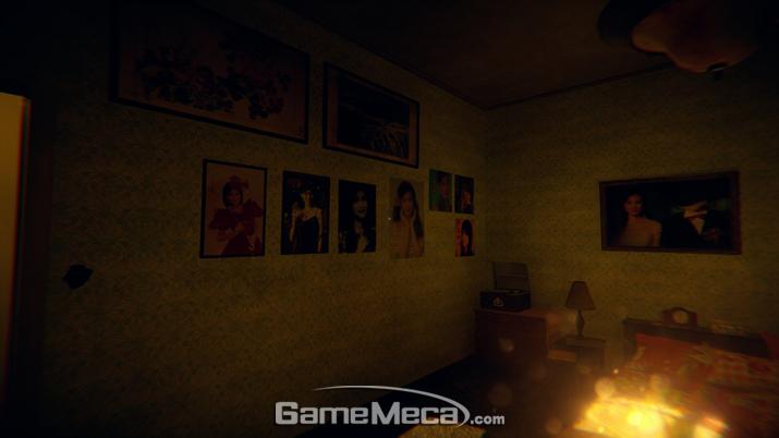 플레이어가 주인공과 일체가 될수 있도록 한 연출이 돋보인다 (사진: 게임메카 촬영)