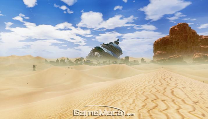 광활한 메가 오픈필드에서 펼쳐지는 두툼한 콘텐츠 볼륨이 특징이다 (사진출처: 게임 공식 홈페이지)