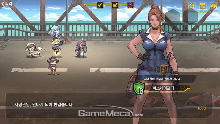 전투를 성공적으로 마친다면 새로운 '바이오로이드'가 합류하기도 한다 (사진: 게임메카 촬영)