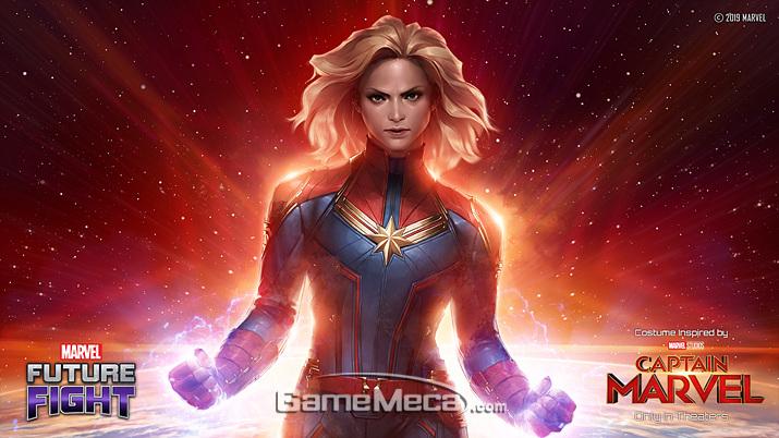 '캡틴 마블'은 변신으로 강해지는 변신형 영웅이다 (사진제공: 넷마블)