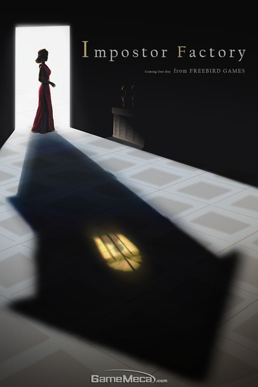 칸 가오 프리버드 게임즈 디렉터가 공개한 신작 '임포스터 팩토리' 대표이미지 (사진: 프리버드 게임즈 공식 페이스북)