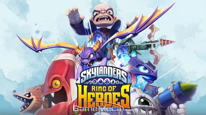 '스카이랜더스: 링 오브 히어로즈' 공식 홍보 이미지 (사진출처: 컴투스 공식 홈페이지)