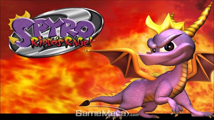 1999년 출시된 '스파이로 2: 립토의 분노!' (사진출처: 인섬니악 게임즈 공식 홈페이지)