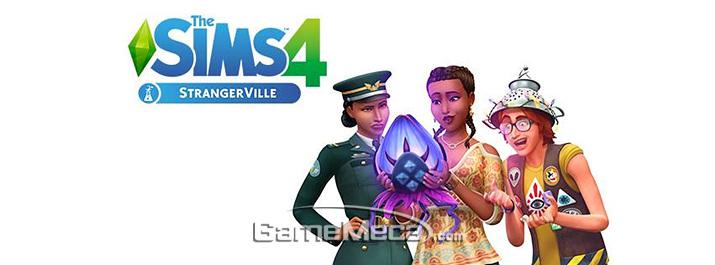 '심즈 4 스트레인저빌' 대표 이미지 (사진출처: 게임 공식 사이트)