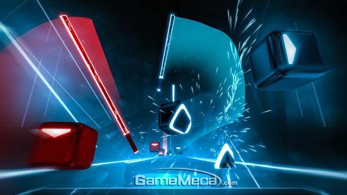 오는 21일 정식 출시를 앞둔 '비트세이버' (사진출처: 스팀 게임 페이지)