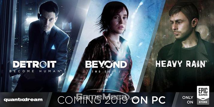 게임 개발사 퀀틱 드림의 게임 3개가 PC로 출시된다 (사진출처: 퀀틱 드림 공식 페이스북)
