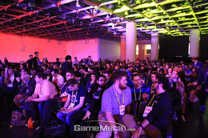 GDC의 메인 이벤트인 GDCA가 열린다는 뜻이다 (사진: 게임메카 촬영)