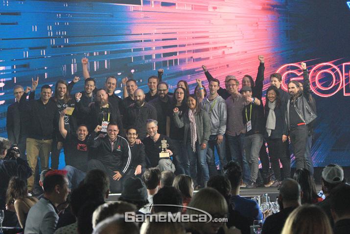 GDCA가 선정한 올해의 게임은 (사진: 게임메카 촬영)
