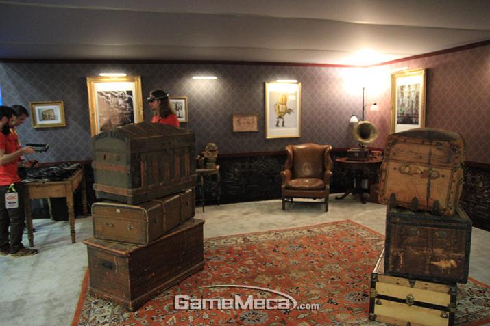 이렇게 생긴 방 안에서 (사진: 게임메카 촬영)