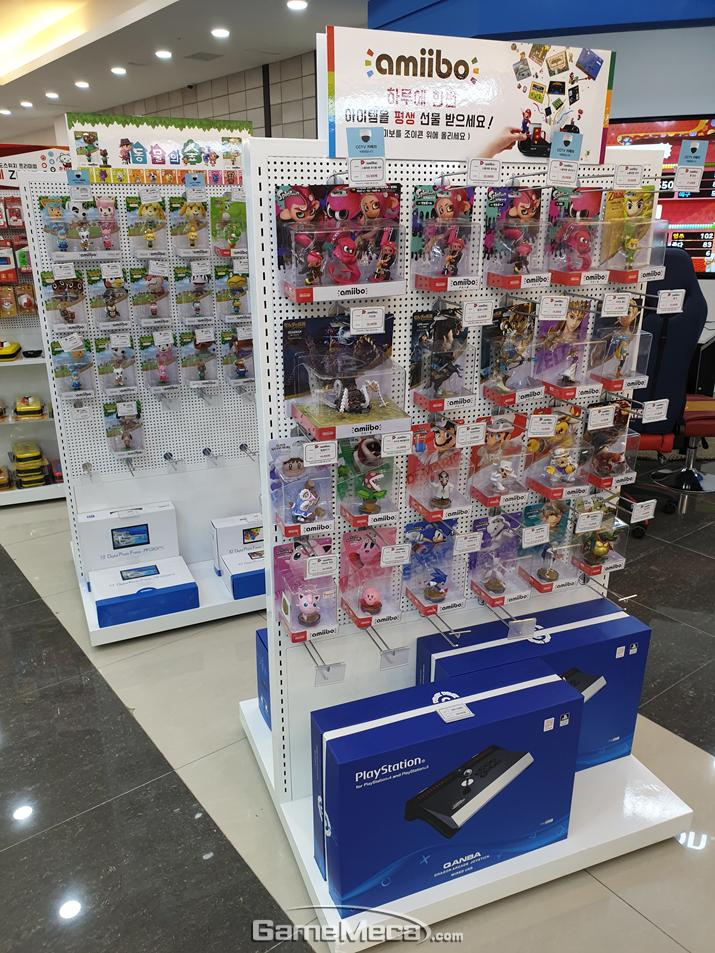 게임이너스 콘솔마켓 강남점 내부 전경 (사진제공: KGMA)
