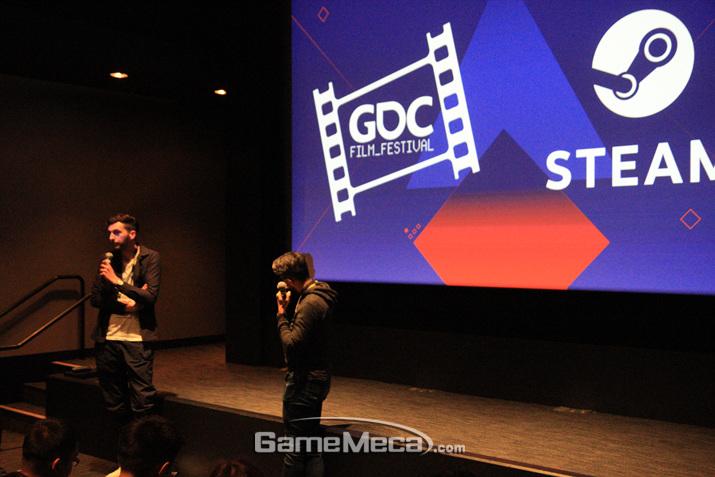 영화가 끝나고 진행되는 감독과의 만남이 핵심이다 (사진: 게임메카 촬영)