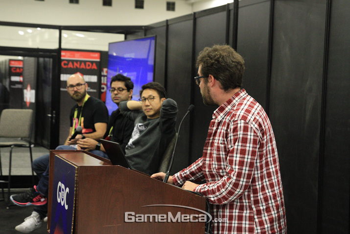 GDC 피치는 그야말로 100% 초보 개발자들을 위한 콘텐츠다 (사진: 게임메카 촬영)