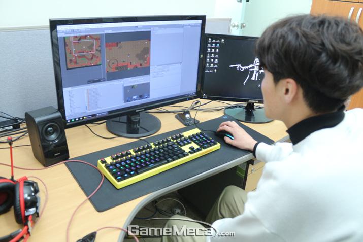역사적으로 의미 있는 날 게임을 출시하기 위해 노력 중인 투캉프로젝트 (사진: 게임메카 촬영)