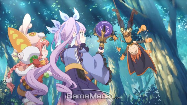 마치 애니메이션을 보는 듯한 높은 퀄리티의 스토리 (사진: 게임메카 촬영)
