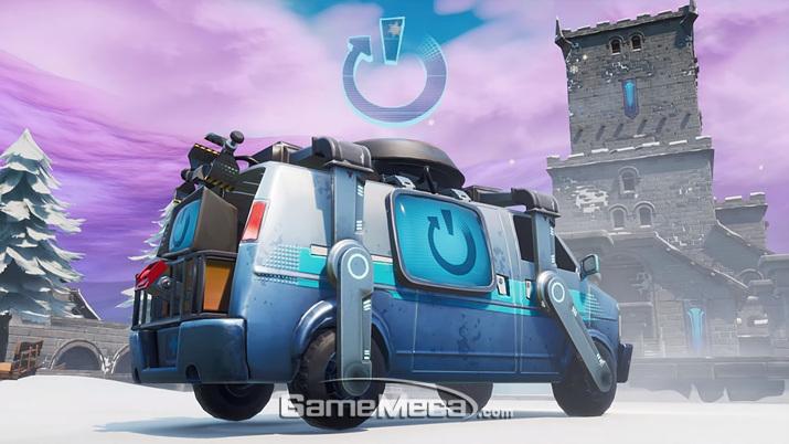 '포트나이트' 팀원 부활 시스템 '리부팅 밴' (사진출처: 게임 공식 유튜브 업데이트 영상 갈무리)
