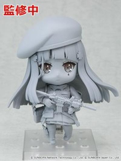HK416 넨도로이드 조형버전도 공개돼 있다. 색채버전은 추후 발표 예정. 소녀전선 피규어화는 시작단계이기 때문에 앞으로 어떤 캐릭터가 추가로 피규어화 될지 기대해도 좋다 (사진출처 : 아미아미 홈페이지)