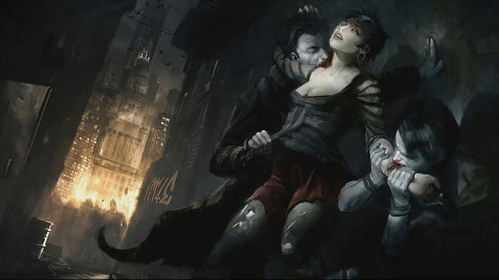 오늘날 도시의 밤거리에 살아가는 뱀파이어를 주인공으로 내세운 것이 특징 (사진출처:Mod DB)