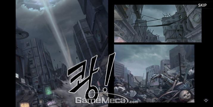 이런 화풍은 '맥스페인' 시리즈를 연상케 했다 (사진: 게임메카 촬영)
