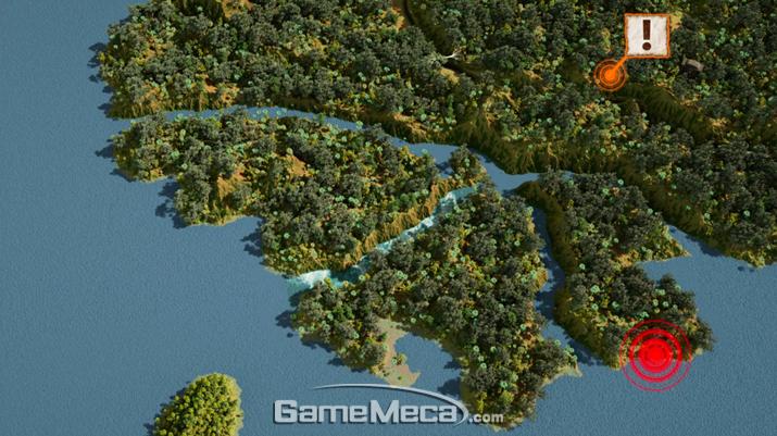 지도를 통한 브리핑은 마치 전략시뮬레이션 게임 캠페인 즐기는 듯한 느낌도 들었다 (사진: 게임메카 촬영)