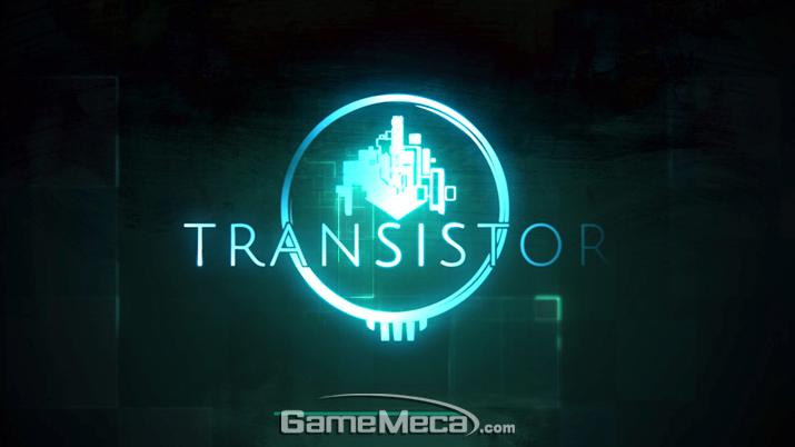 '트랜지스터' 게임 내 대기화면 (사진: 게임메카 촬영)