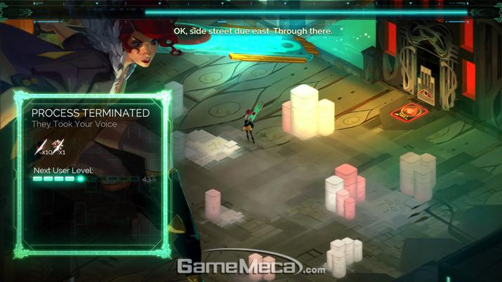 게임 내내 내레이션이 들리는데, 다소 거슬릴 수도 있다 (사진: 게임메카 촬영)