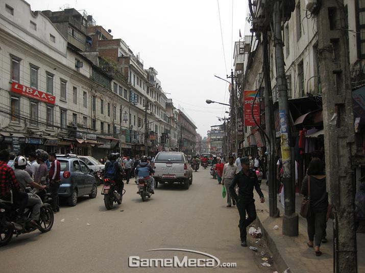 '배틀그라운드' 금지령이 해제된 네팔 (사진: 게임메카 촬영)