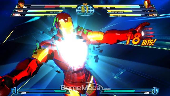 '마블 VS 캡콤 3'의 아이언 맨이 대회에 나왔다는 건 보통 예능을 위한 연출이다 (사진출처: 게임 공식 팬덤 위키)