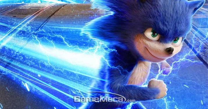 왜 소닉의 몸에서 전기가 흐르는지도 의문이다 (사진출처: 영화 공식 홈페이지)