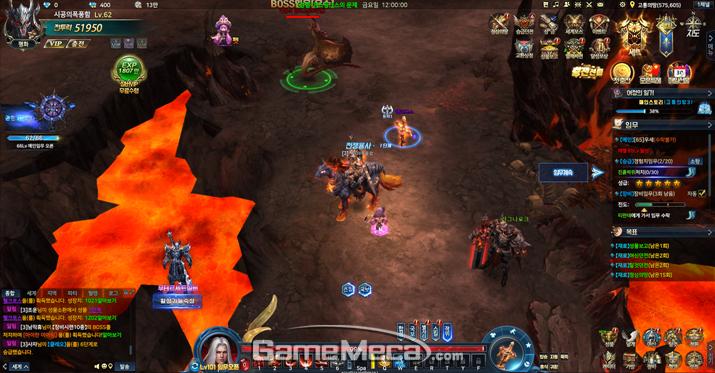 화면을 가리는 UI와 팝업창은 게임 진행을 방해한다 (사진: 게임메카 촬영)