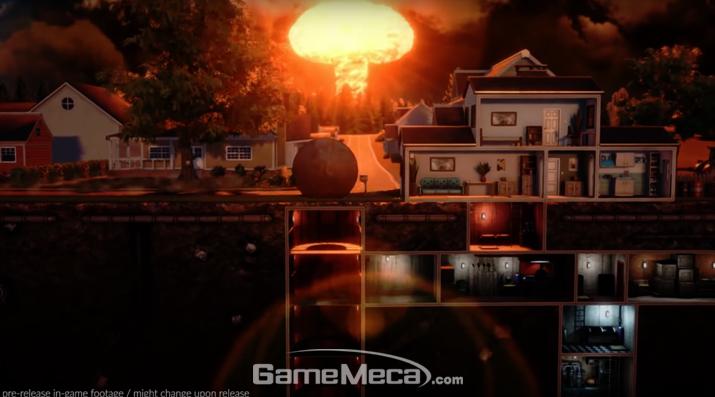 핵 벙커 시뮬레이션 게임 '미스터 프레퍼' (사진: 공식 영상 갈무리)