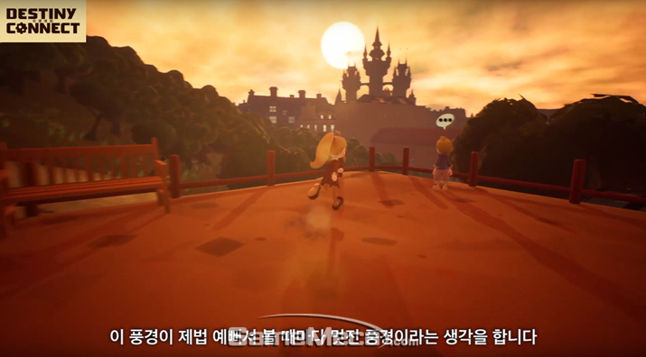 개발자가 직접 선정한 게임 내 최고의 풍경 (사진: 공식 영상 갈무리)