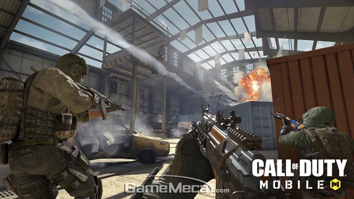 '콜 오브 듀티 모바일' 게임 내 이미지 (사진출처: 액티비전 공식 홈페이지)