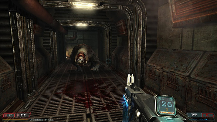 FPS 최고봉이던 이드 소프트웨어는 '둠 3'을 시작으로 내리막길을 걸었다 (사진출처: '둠' 위키)