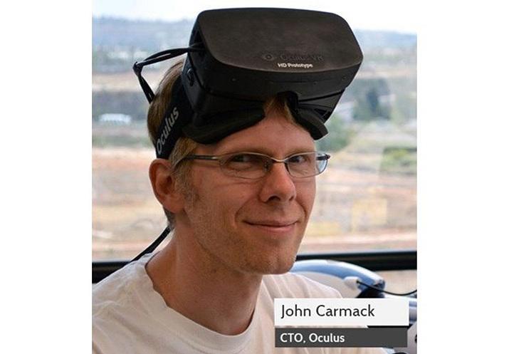 '레이지'를 끝으로 이드 소프트웨어를 떠난 존 카맥 (사진출처: VRoom)