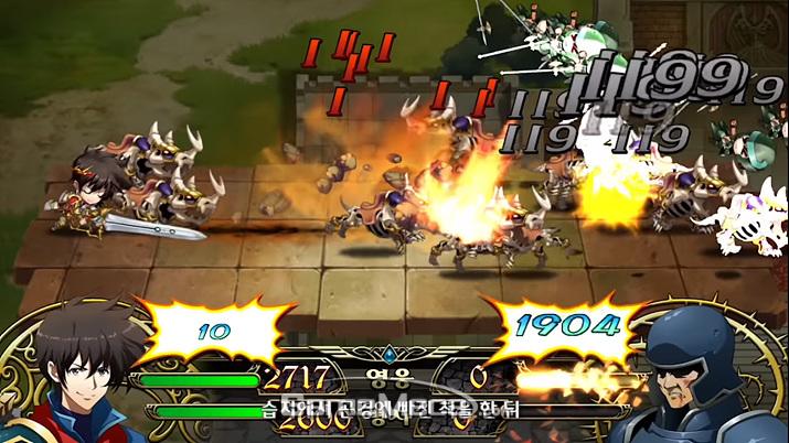 원작 고증을 따르면서도 모바일에 맞게 최적화된 전투 시스템 (사진출처: 게임 공식 유뷰트)