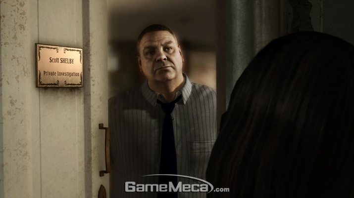 PC로 출시되는 '헤비 레인' 스크린샷 (사진출처: 에픽게임즈 스토어 공식 페이지)