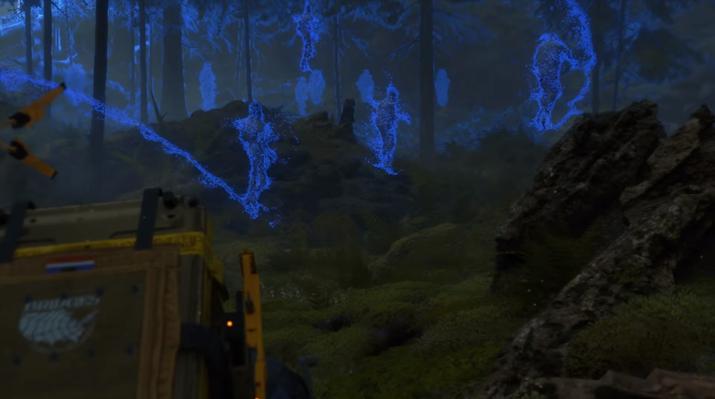 BT라는 유령 같은 적들도 나온다 (사진출처: 게임 공식 트레일러 갈무리)