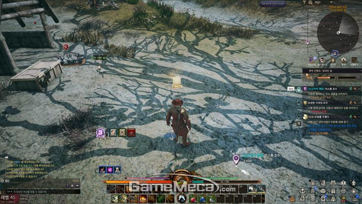 전투 중에도 알아서 룬 스킬이 발동된다 (사진: 게임메카 촬영)