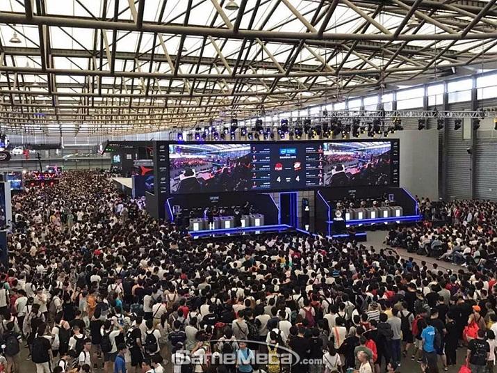 작년 '차이나조이 2018' 현장 사진 (사진체공: 차이나조이 주최측)