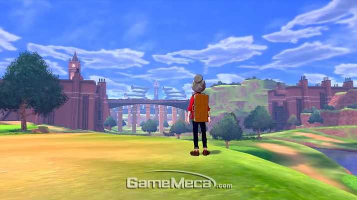 시간과 장소, 날씨에 따라서 등장하는 포켓몬이 달라지는 와일드에리어 지역 (사진출처: 포켓몬 다이렉트 생방송 갈무리)