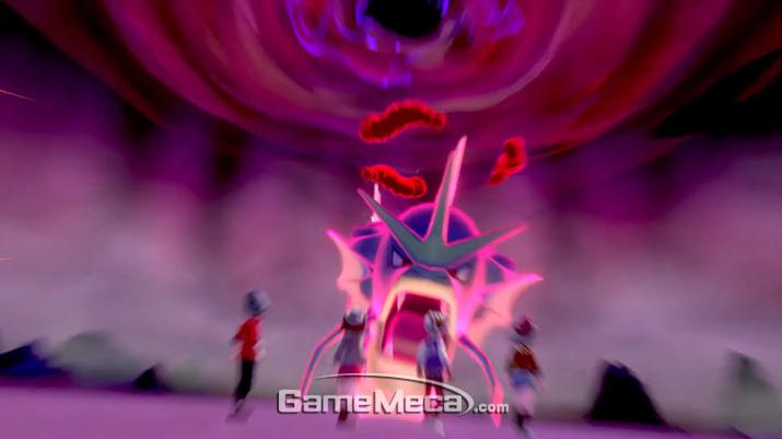 포켓몬이 거대해지는 다이맥스 시스템도 공개됐다 (사진출처: 포켓몬 다이렉트 생방송 갈무리)