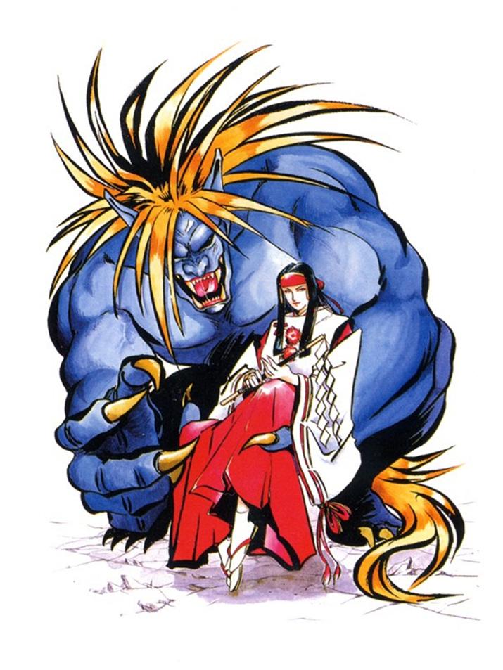 악마의 화신 '라쇼진 미즈키', 하는 짓은 아마쿠사와 비슷하다 (사진출처: Villains Wiki)