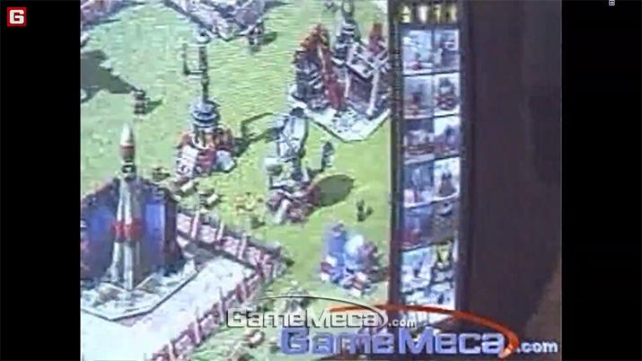 2000년 E3에 나온 '커맨드 앤 컨커: 레드얼럿2' 시연 영상 (사진출처: 게임메카)