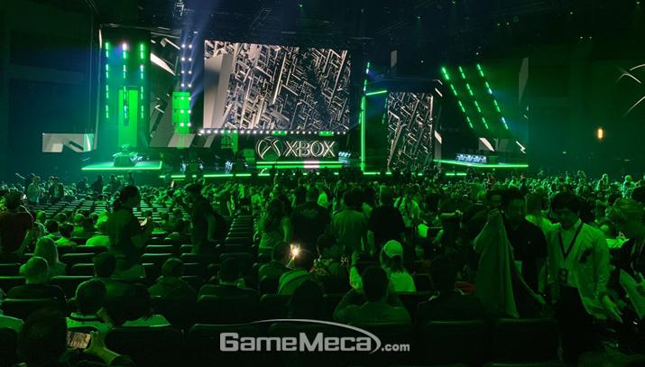알찬 컨퍼런스로 'E3 2019' 태풍의 눈이 된 MS (사진: 게임메카 촬영)