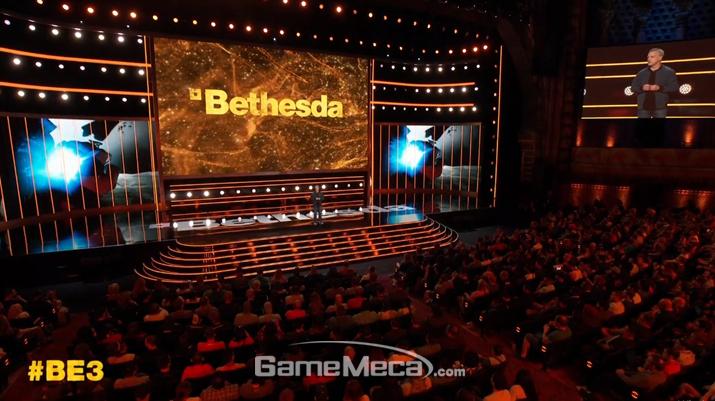베데스다 E3 2019 쇼케이스 현장 (사진출처: 베데스다 쇼케이스 생중계 갈무리)