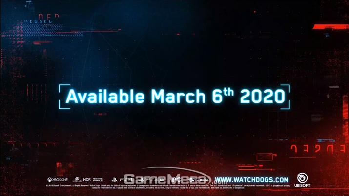 '와치독: 리전' 대표 스크린샷 (사진출처: 유비소프트 E3 컨퍼런스 생방송 갈무리)
