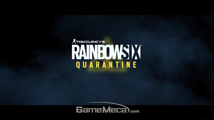 '레인보우 식스 쿼런틴'이 공개됐다 (사진출처: 유비소프트 E3 컨퍼런스 생방송 갈무리)