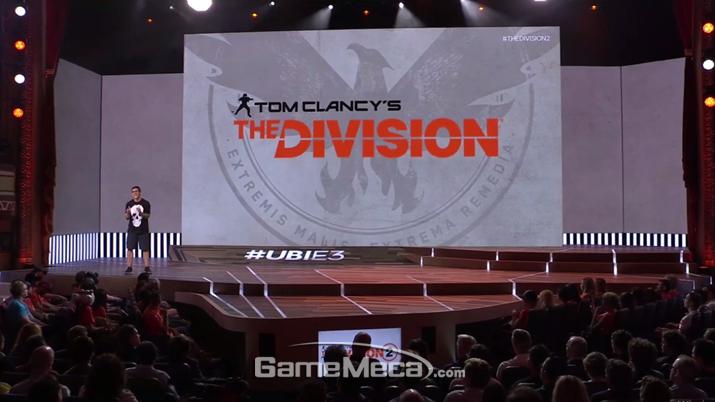 '더 디비전' 영화가 넷플릭스로 개봉한다 (사진출처: 유비소프트 E3 컨퍼런스 생방송 갈무리)