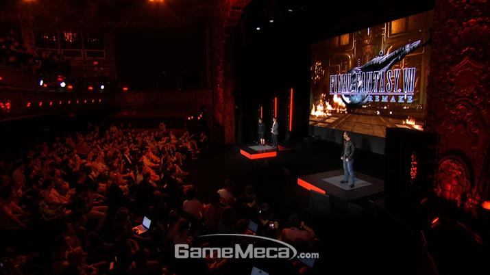 스퀘어에닉스가 작년보다 훨씬 더 완벽한 모습으로 쇼케이스를 마무리했다 (사진출처: 스퀘어에닉스 E3 쇼케이스 갈무리)
