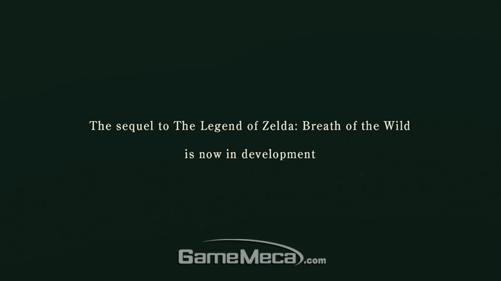 '젤다의 전설: 야생의 숨결' 후속작 대표 스크린샷 (사진출처: 닌텐도 E3 2019 다이렉트 생방송 갈무리)